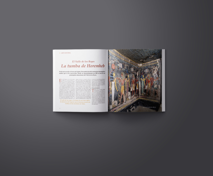 Maquetado de revista de historia del arte