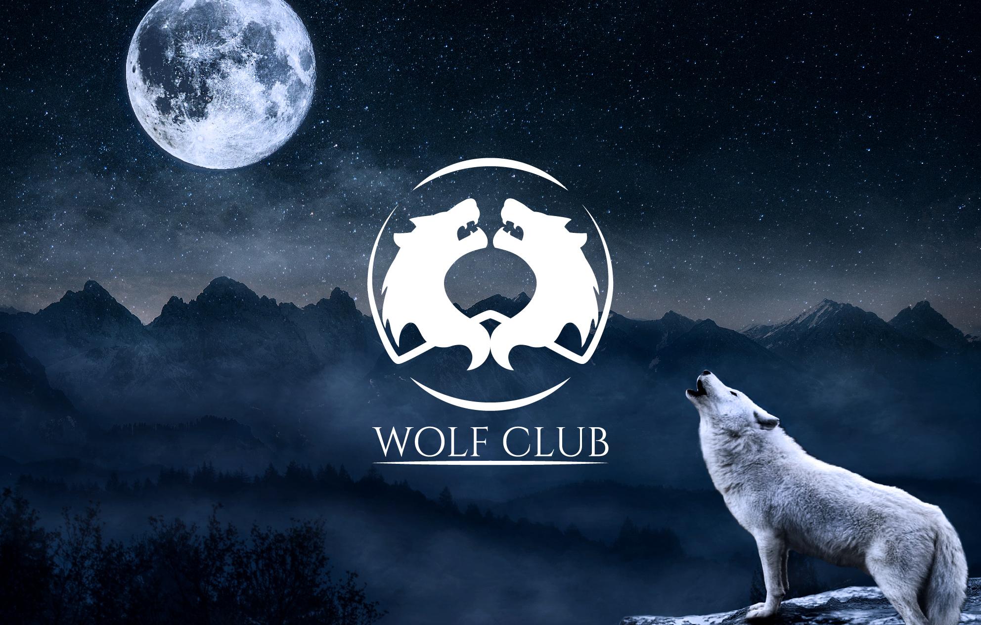 Logotipo Wolf Club
