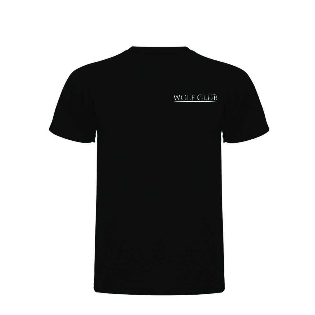 Camiseta con logotipo Wolf Club