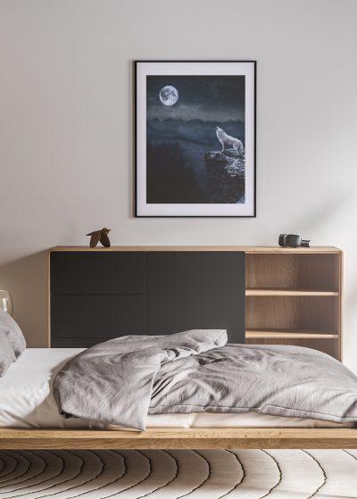 La luna y el lobo